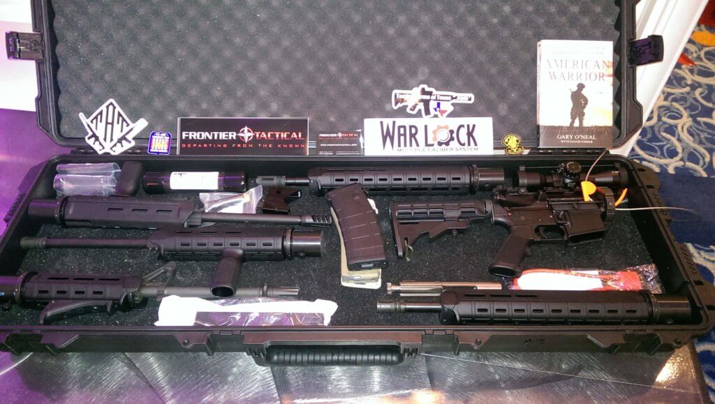 Multiple Caliber Rifle auctioned for Combat Wounded Coalition