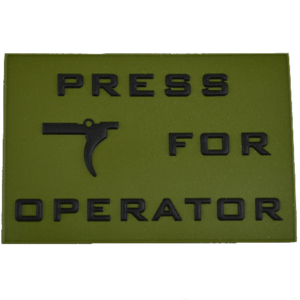 PF Operator - Morale Patch - PVC