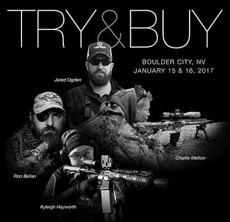 Try and Buy Event Will Include Frontier Tactical